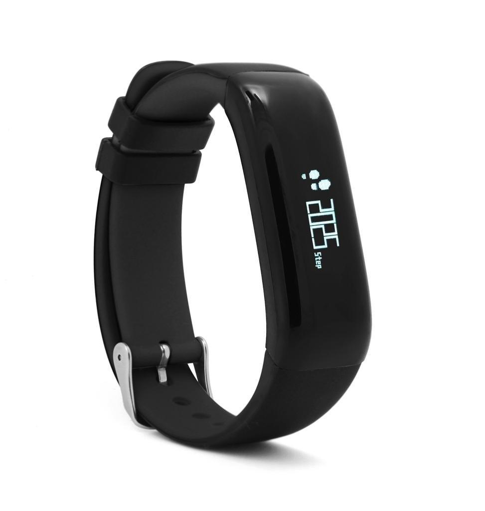 Pulsera inteligente negro ritmo cardíaco sangre oxígeno monitorización ejercicio paso pulsera de ritmo cardíaco impermeable , black