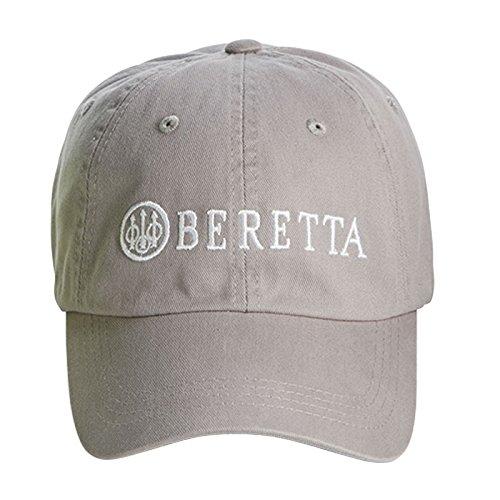 - Beretta Men's Cotton Twill Hat, Grey, One Size
