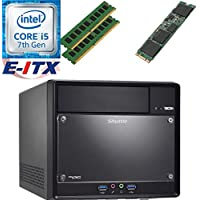 Shuttle SH110R4 Intel Core i5-7400 (Kaby Lake) XPC Cube System , 16GB Dual Channel DDR4, 120GB M.2 SSD, DVD RW, WiFi, Bluetooth, Pre-Assembled and Tested by E-ITX