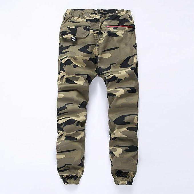 Laus Pantalones Camuflaje niño - Pantalón de Jogging con Forro ...