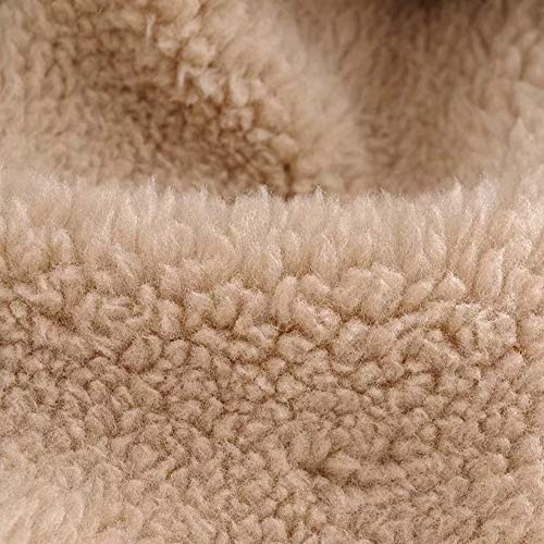 Donna Vicgrey Fleece Autunno Caldo Aperta Sintetica pelliccia Parka Giacca Cappotto Outwear Khaki ❤ Capispalla Casual Tasche Inverno Con EqrxUCwE