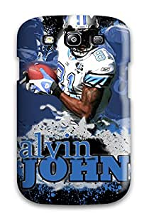 IHdrwMn7984yFwIz Case Cover Protector For Galaxy S3 Calvin Johnson Case