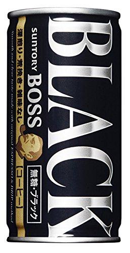 Suntory boss sugar-free black 185GX30 cans