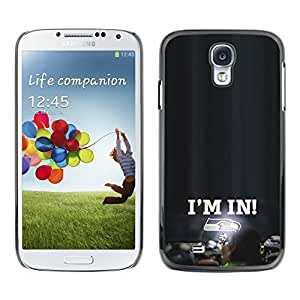 // PHONE CASE GIFT // Duro Estuche protector PC Cáscara Plástico Carcasa Funda Hard Protective Case for Samsung Galaxy S4 / Estoy en - Seahawks /
