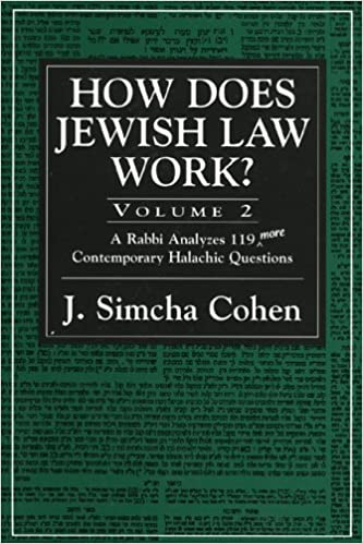 How Does Jewish Law Work?, Vol. 2: A Rabbi Analyzes 119 More Contemporary Halachic Questions