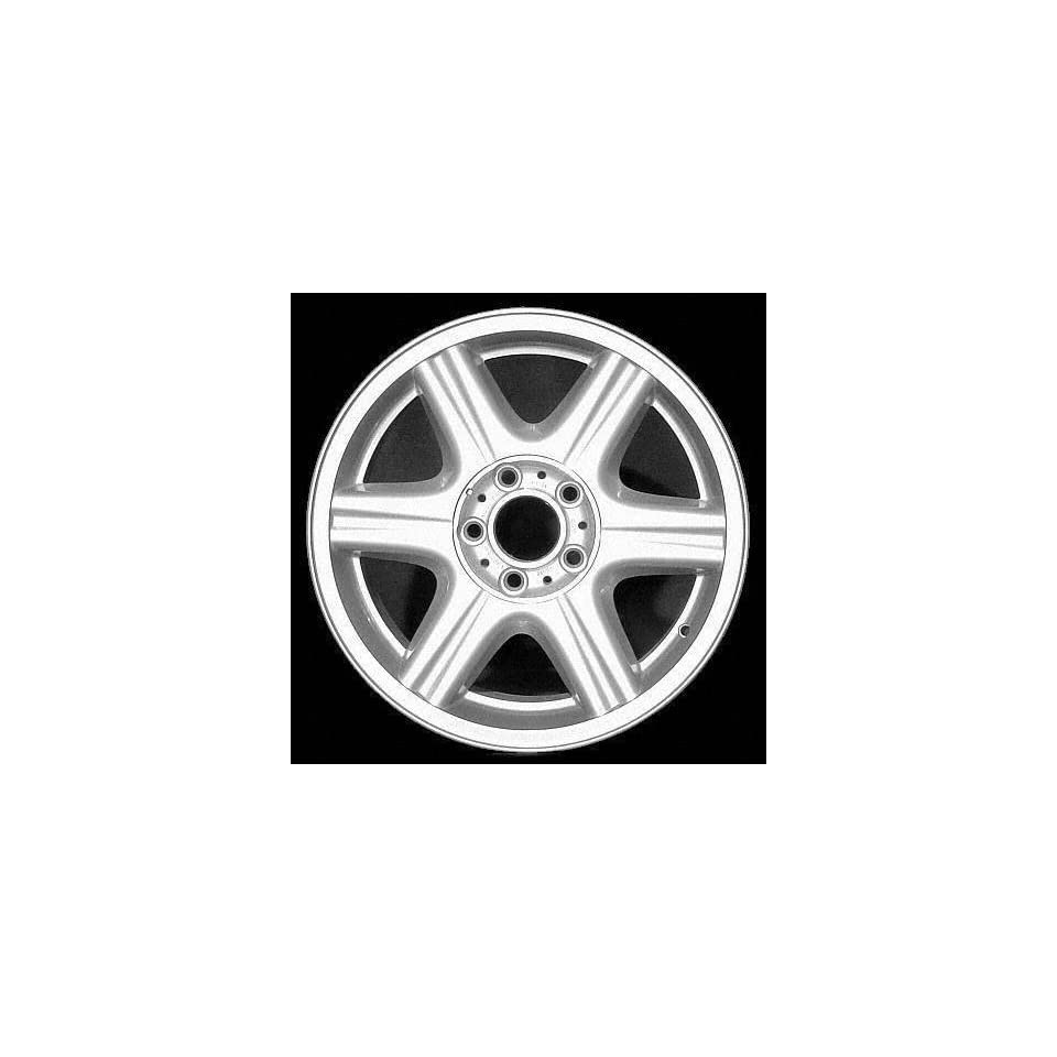 98 99 BMW 323I 323 i ALLOY WHEEL RIM 16 INCH, Diameter 16, Width 7 (6 SPOKE, FLUTED), 46mm offset Style # 10, SILVER, 1 Piece Only, Remanufactured (1998 98 1999 99) ALY59215U10