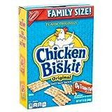PACK OF 10 - Nabisco Chicken in a Biskit Flavor