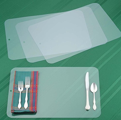 hard plastic placemats