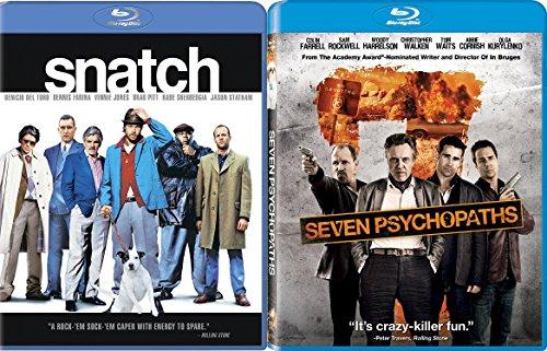 Snatch & Seven Psychopaths [Blu-ray] Bundle Double feature Set