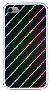 Color Line 2 TPU White Case for iphone 4S/4 by Maris's Diary