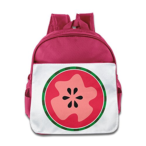 Price comparison product image CUIPO JUCPOI Kid's Backpack - Unique Watermelon Boys Girls Backpack School Backpack For 2 - 4 Years Child Pink