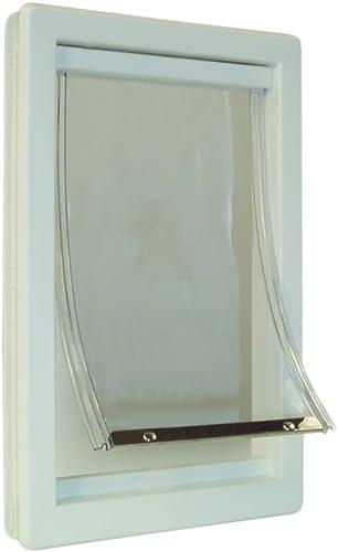 Ideal Pet Products Plastic Pet Door – Super Large – Flap Size 15 x 20 – IPP-PPDSL by Ideal Pet Products