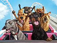Buffalo Games - Fun at The Amusement Bark - 750 Piece Jigsaw Puzzle