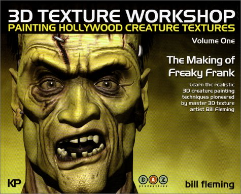 Read Online 3D Texture Workshop: Painting Hollywood Creature Textures Volume One pdf