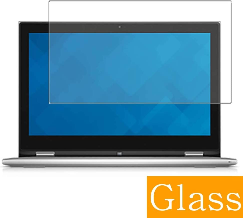 """Synvy Tempered Glass Screen Protector for Dell Inspiron 13 7000 (7348) 2-in-1 13.3"""" Visible Area Protective Screen Film Protectors 9H Anti-Scratch Bubble Free"""