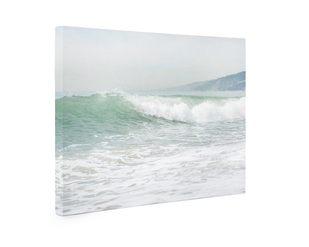 Large Format Prints, Canvas or Unframed, Coastal Ocean Waves Wall Art, Beach Decor Photography, 'Breaking Surf' by Offley Green