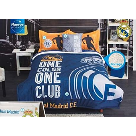 Real Club Madrid Softy Comforter And Sheet Set Queen