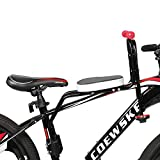 FOUJOY Metal Bicycle Child Safety Seat Front Baby