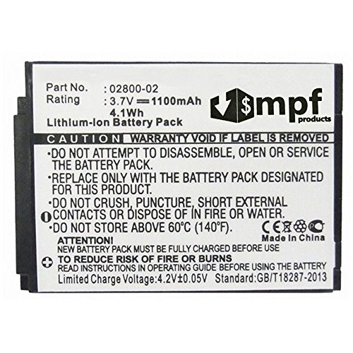 02800-02 Battery for Summer Infant Baby Touch 02000 02004...