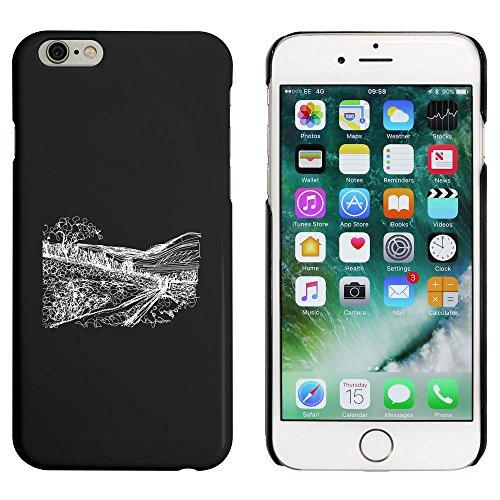 Noir 'Paysage' étui / housse pour iPhone 6 & 6s (MC00013801)