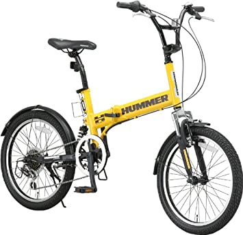 Amazon.com : Hummer 20 Inches Shimano 6-speed Folding Bike Fdb206 W-sus : Sports & Outdoors
