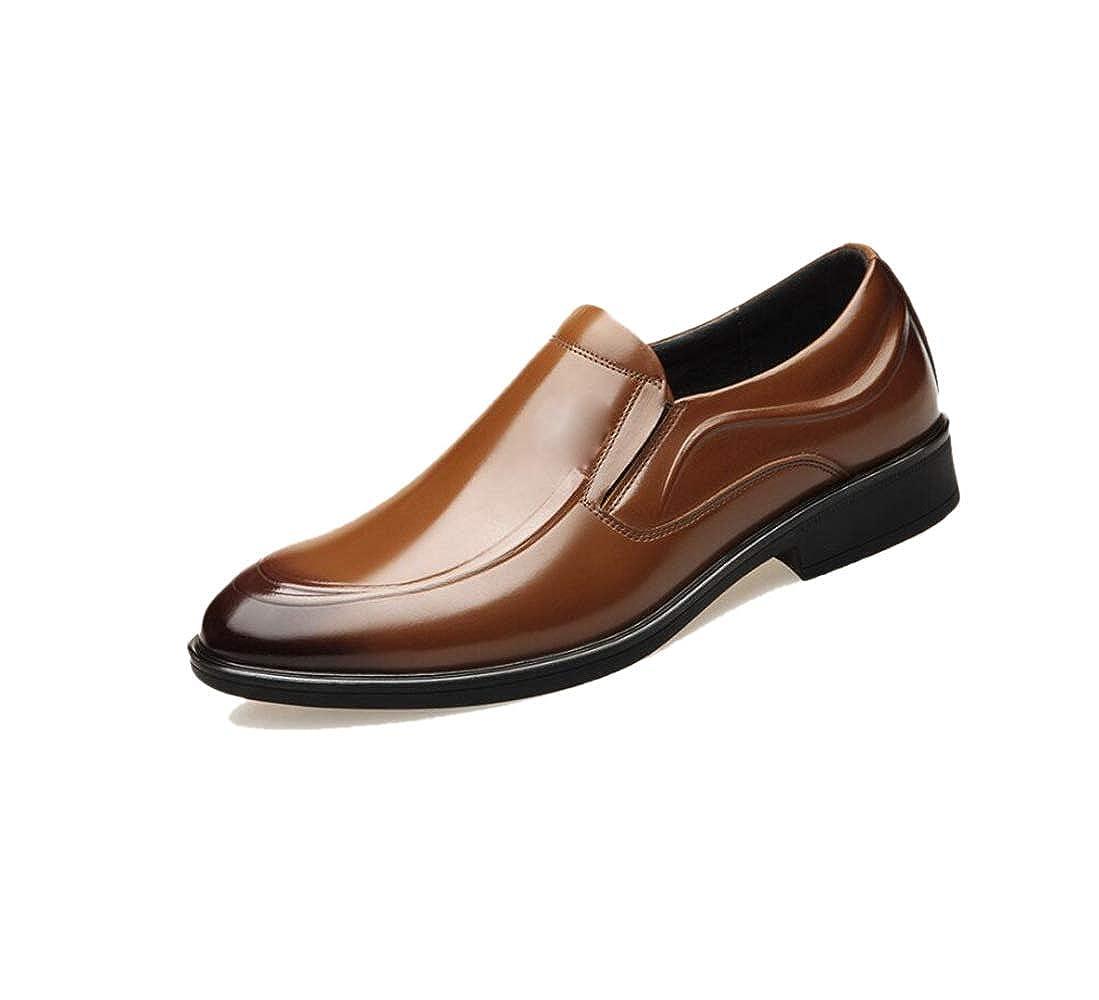 Geschäftsschuhe Der Männer Kleiden Hochzeitsschuhe Zufällige Sätze Der Füße Erbsen Braun
