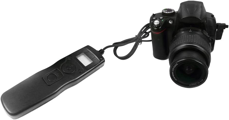Bower LCD Timer and Remote Shutter Release for Sony A100//A200//A350//A700//A900//7D//5D//Dynax 9,7,5,4,3//Dynax 807,800,700,600,505SI Digital SLR Cameras RCLS1R