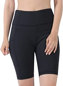 Sweepstakes: Mifidy Women's Yoga Shorts High Waist with Pockets Workout…