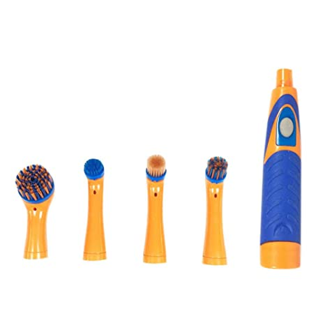 Beesuya Turbo Brush Sonic Power Precision Cleaner con 4 Cabezales de Repuesto adicionales