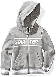 Starter Girls' Zip-Up Logo Hoodie, Amazon Exclu