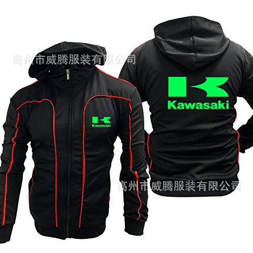 YXSM Witten Ropa De Color Verde Claro Kawasaki Traje De Carreras ...