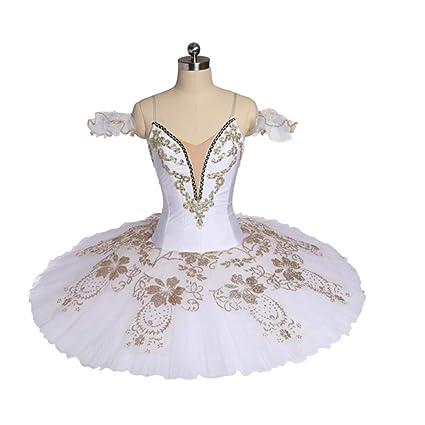 ac54ef8d7c Amazon.com: DILIKEXUE Advanced Custom Ballet Skirt Professional Tutu Skirt  7 Layer Hard Net Adult Children Dance Performance Clothing Elastic  Force,XL: Home ...
