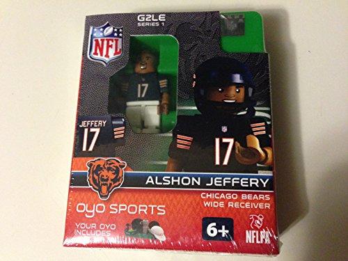 NFL Chicago Bears Alshon Jeffery Gen 2 Mini Figure, Petit