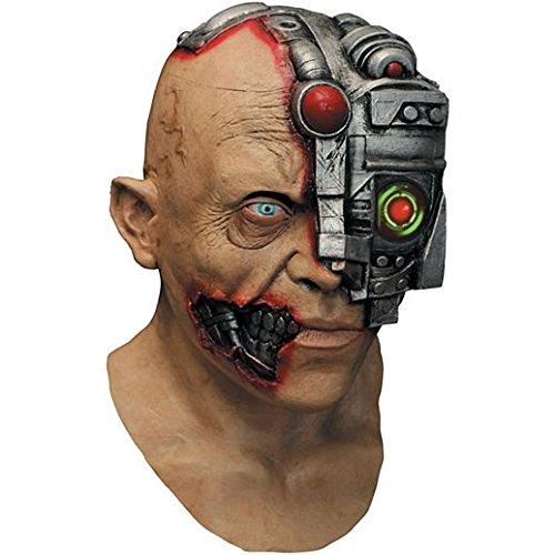 Costume Beautiful Digital Dudz Cyborg Mask ()
