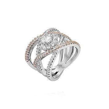 Amazon Com Valentine S Day Gift Luxury Diamond Wedding Ring For