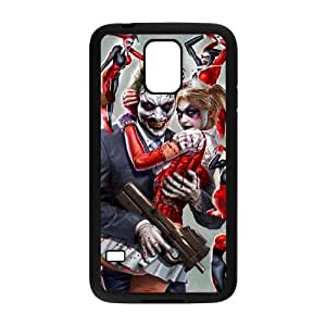 wugdiy Brand New Phone Case for SamSung Galaxy S5 I9600 with diy Harley Quinn