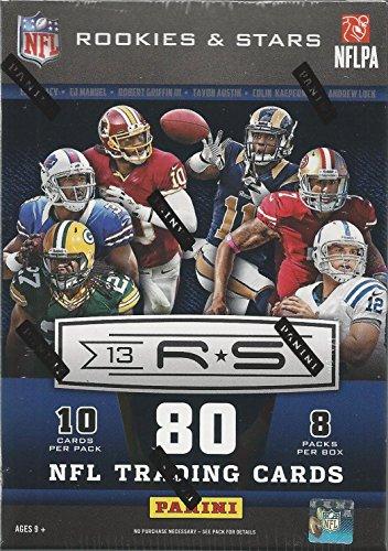 (2013 Panini NFL Rookies & Stars Blaster Box)