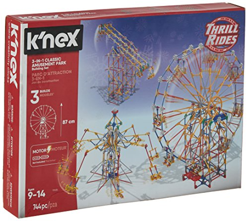 K'NEX Thrill Rides - 3-in-1 Classic Amusement Park Building Set Only $29.91 (Was $54.99)