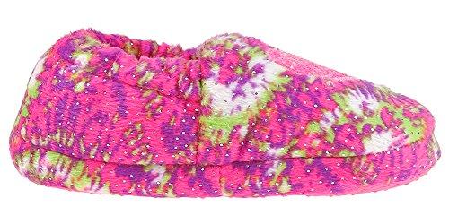 LA GEAR Love Tie-Dye Printed Moccasin Multi Combo Multi Combo 8/9 by LA Gear (Image #3)'