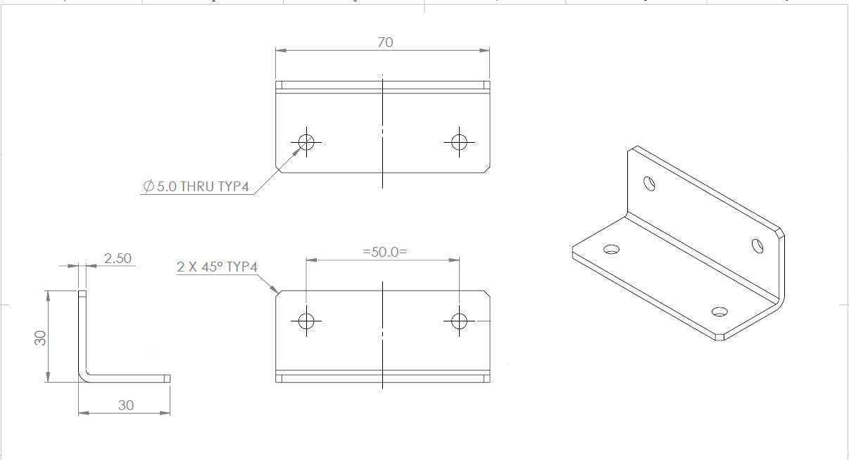 Clear Right Angle Bracket Corner 4 x Angled L Brackets 20x M5 Bolts Polished Clear Transparent Perspex Acrylic