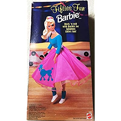 Barbie 1996 Fifties Fun Doll: Toys & Games