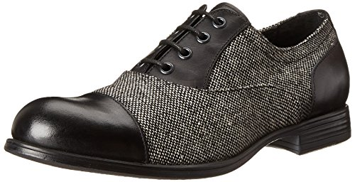 Ben Sherman Men's Douglas Oxford, Black Tweed,41 EU/8-8.5 M US - Ben Sherman Lace Shoes