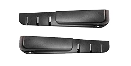 Volvo 240 Door Panel Pockets Black New Set Of 2