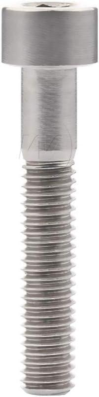 Titanium Ti Bolts M5 X 10 12 16 18 20 25 30 35 40 45 50 55 60Mm Allen Key Square Head Screw For Bicycle Stem Seatpost Original M5 18mm