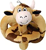 Loopies Brown Happy Cow Sound Chip Toy