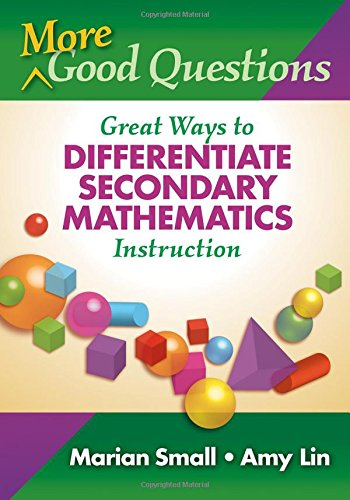 More Good Questions Differentiate Mathematics product image