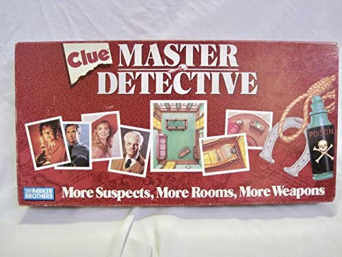 Ask Expert Unraveling Clues >> Amazon Com Clue Master Detective Board Game Toys Games