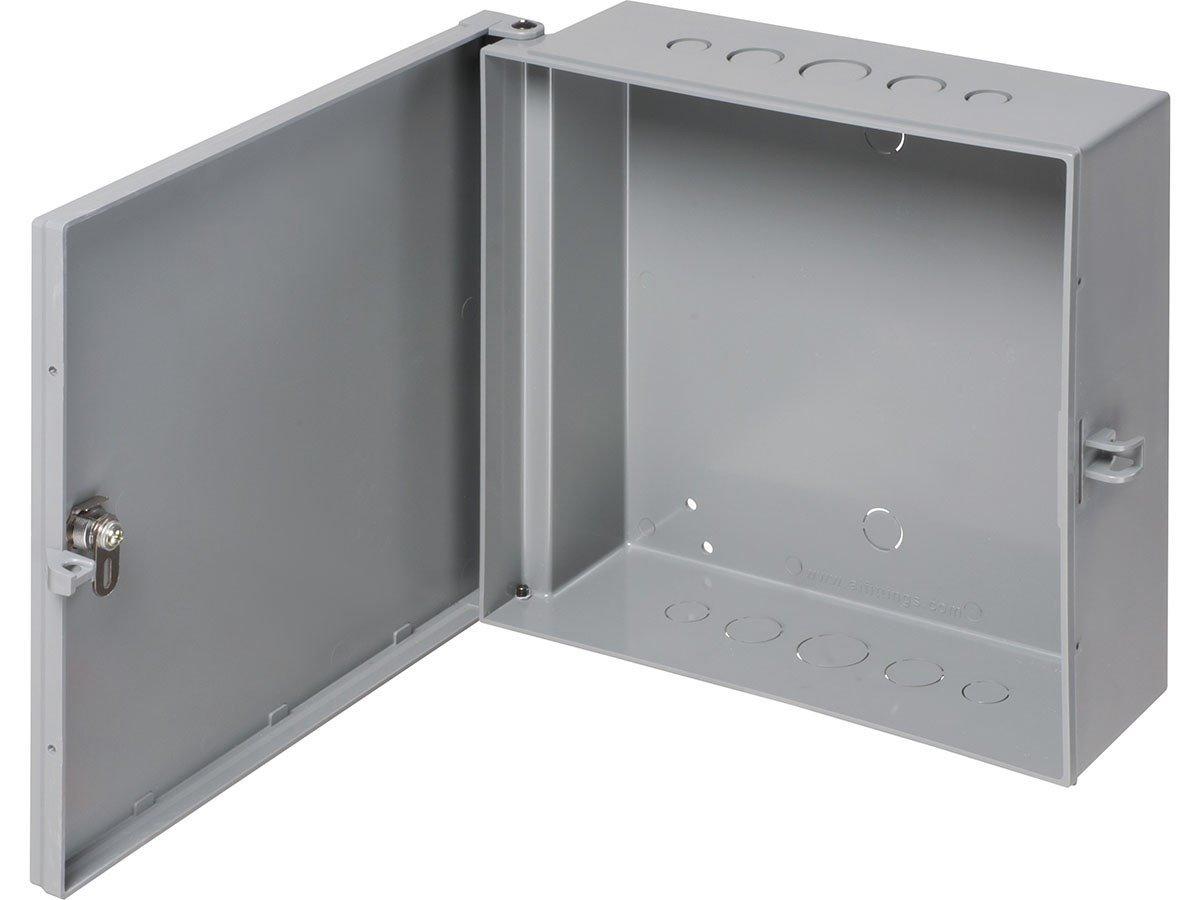 Monoprice Heavy-Duty 12'' x 12'' Enclosure Box Home Business Surveillance