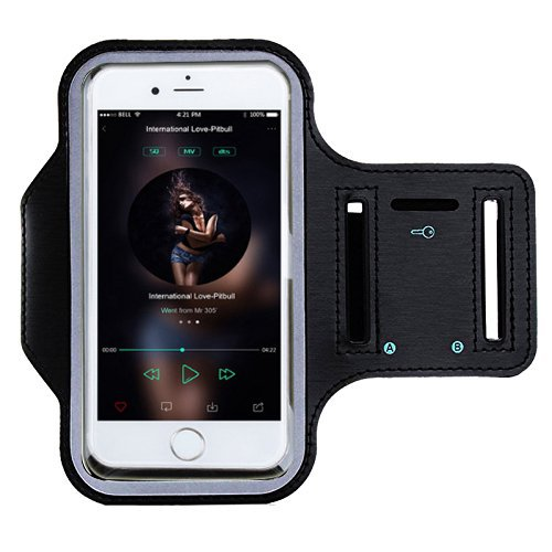 CoWalkers Funda Deportiva de iPhone 8 para Brazo: Estuche de 5.0 pulgadas para iPhone 8, 7, 6, 6S, SE, 5, 5C, 5S y Galaxy s9...