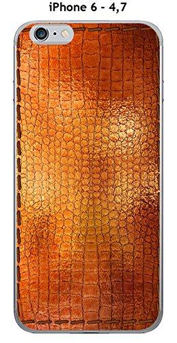 Cover Apple iPhone 6–4.7Design Pelle Dore con linea Excellence rotanti